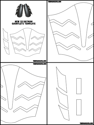 New 52 batman gauntlets build tutorial the foam cave thumbnail pic mobile pronofoot35fo Choice Image