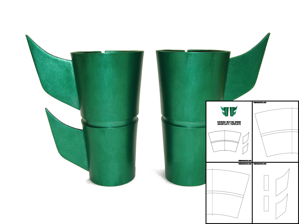 Template for Damian Wayne Robin Gauntlets – The Foam Cave