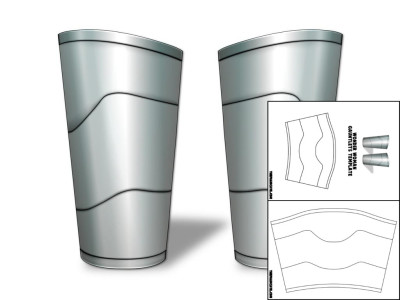 Template for wonder woman gauntlets the foam cave template for wonder woman gauntlets pronofoot35fo Gallery