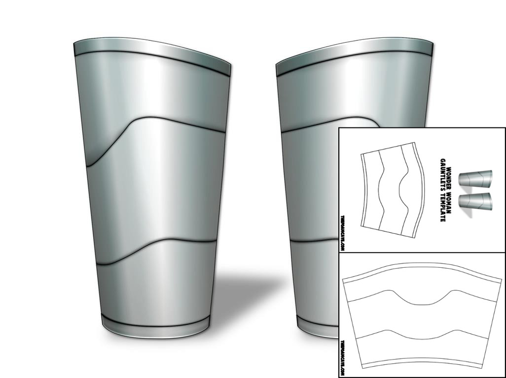 Template for wonder woman gauntlets the foam cave template for wonder woman gauntlets pronofoot35fo Choice Image