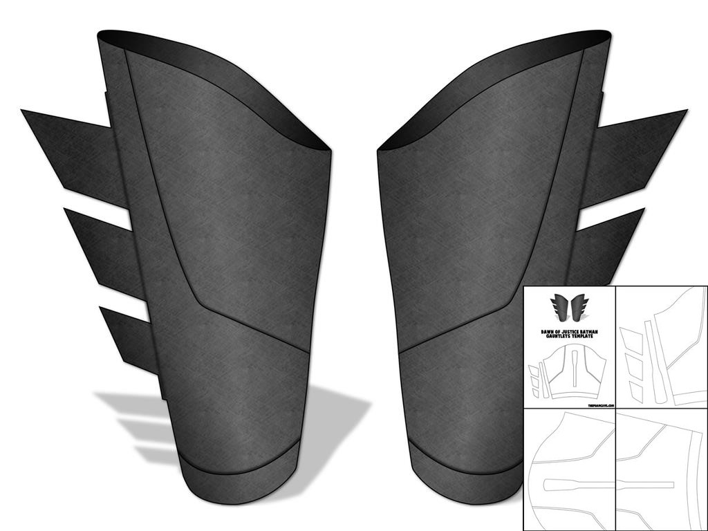 Template for Dawn of Justice Batarang – The Foam Cave