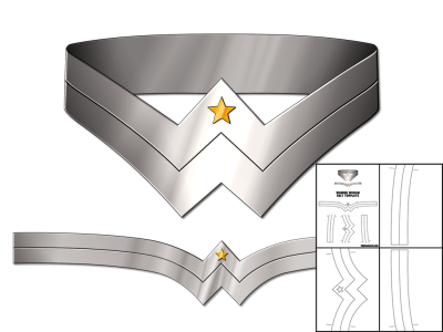 Template for wonder woman belt the foam cave template for wonder woman belt pronofoot35fo Image collections