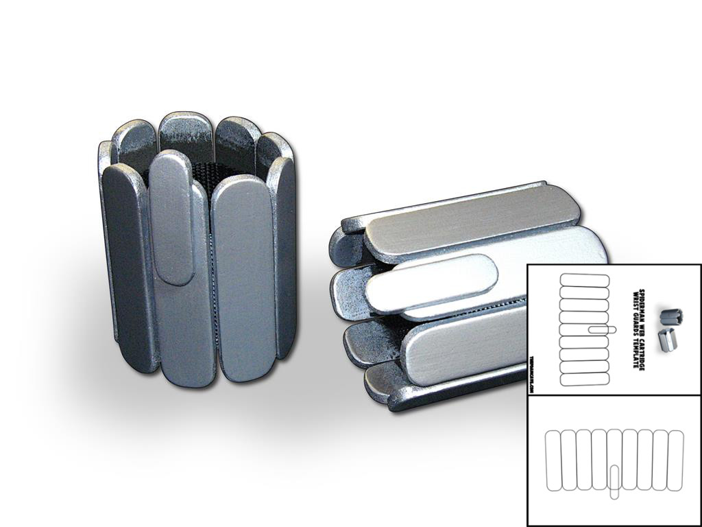 Template For Spider Man Web Cartridge Wrist Guards The