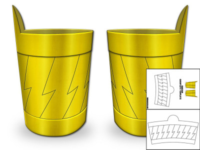 shazam gauntlets template pic