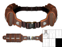Age of ultron captain america belt template pic