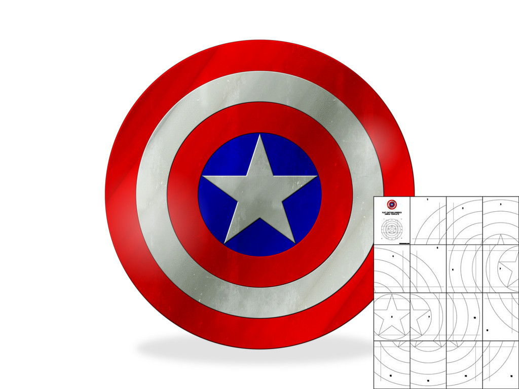 Captain america shield coloring page democraciaejustica captain america powerpoint template images powerpoint toneelgroepblik Image collections
