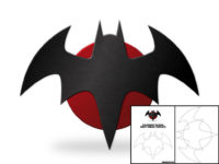Flashpoint Batman Chest Emblem temp pic