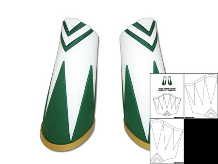 Template for Green Power Ranger Gauntlets