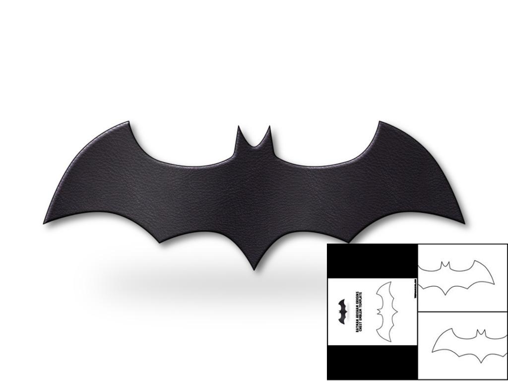 template for batman arkham origins chest emblem the foam cave