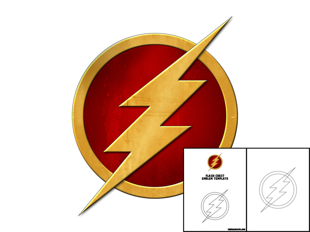 Template For Flash Chest Emblem The Foam Cave