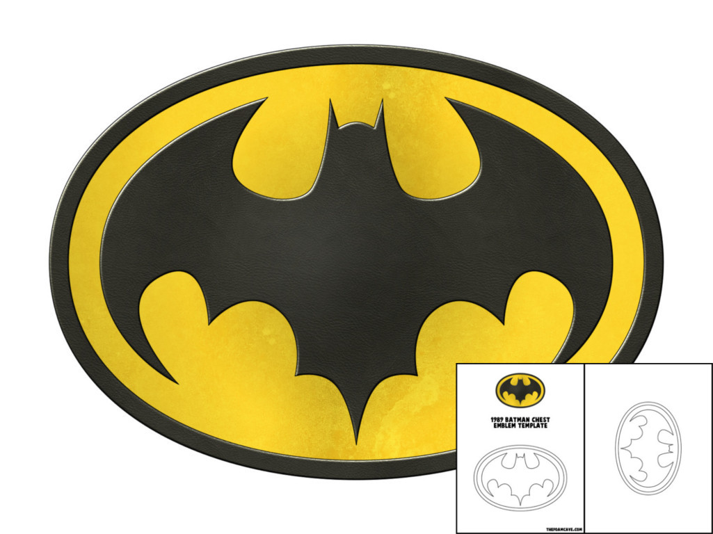 Batman chest emblem